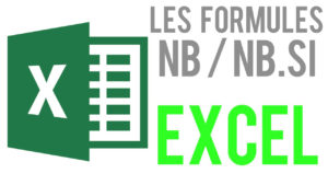 Les formules NB / NB.VIDE / NB.SI
