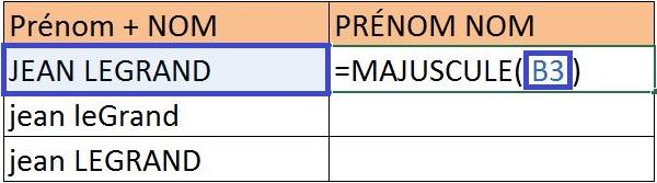 Mettre un texte en majuscule / minuscule