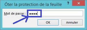 Verrouiller cellules Excel