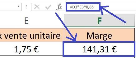 Masquer les formules de cellules Excel
