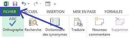 Marquer comme final un fichier Excel