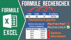 La formule RECHERCHEX