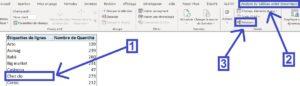 Lier plusieurs tableaux de données dans un tableau croisé dynamique