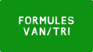 Formules VAN/TRI