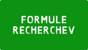 Formule RECHERCHEV