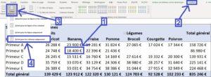 Grouper les données dans un tableau croisé dynamique